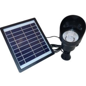 Lampa solarna ogrodowa LED wbijana