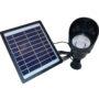 Solarna lampa ogrodowa
