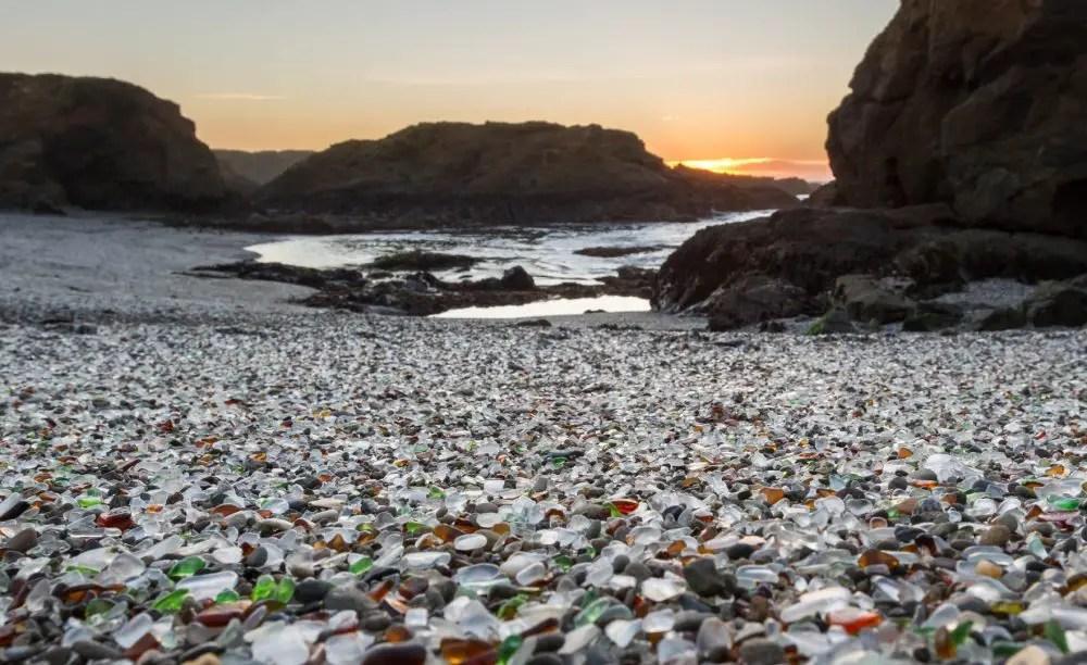 Glass Beach, Fort Bragg, CA - California Beaches