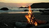 California Beach Bonfires - California Beaches