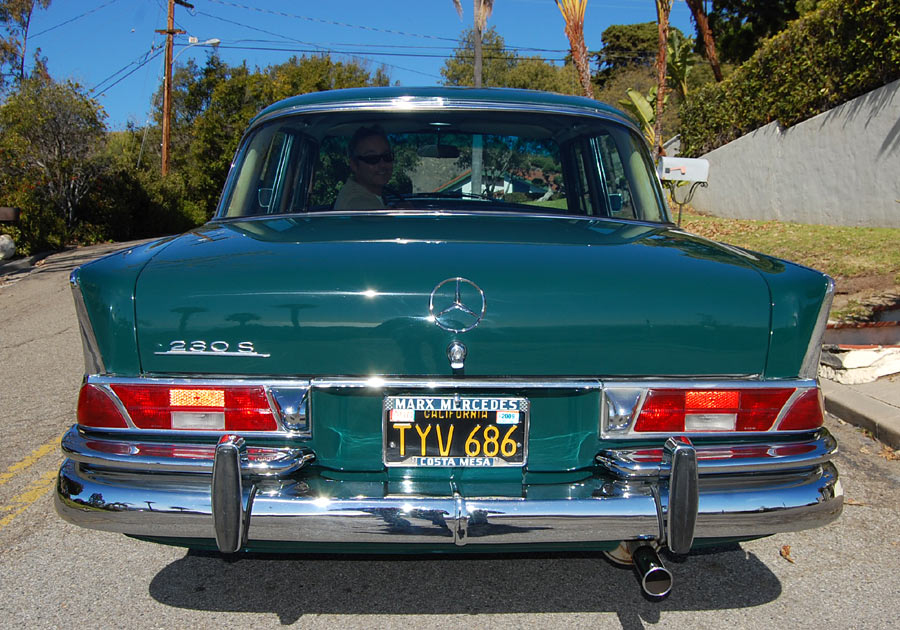 An exceptionally preserved 1967 Mercedes 230S, SOLD by