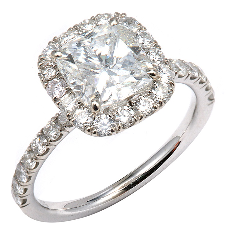 White Sapphires vs Diamonds for Wedding and Engagement Rings
