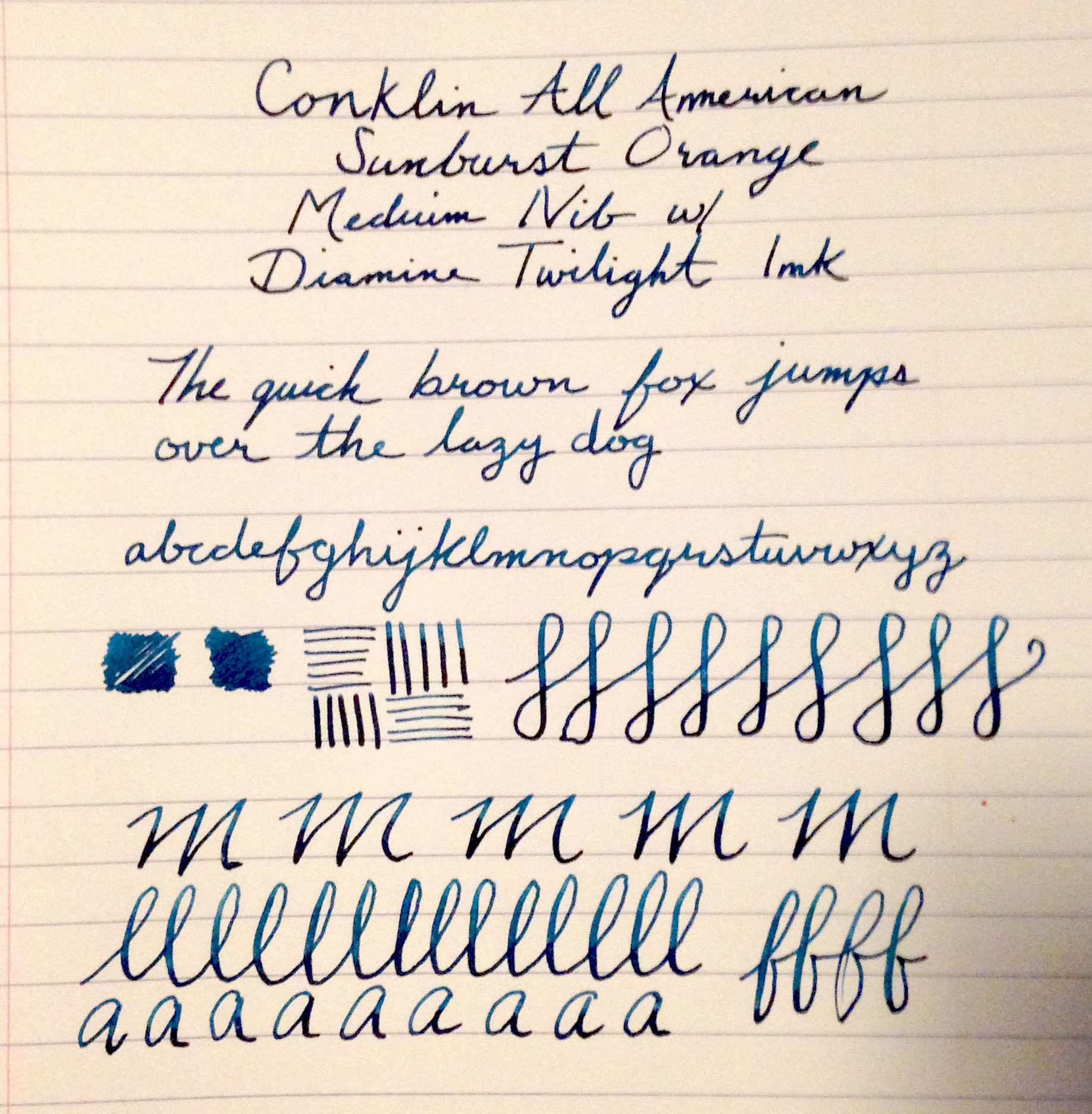 Conklin All American Calligraphy Nut