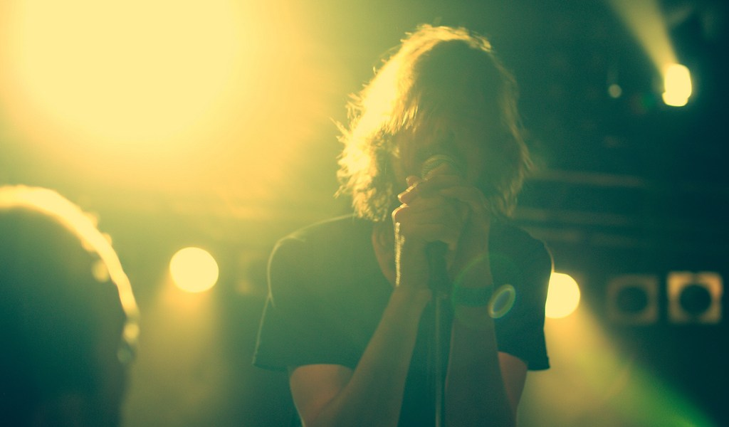 rock concert video