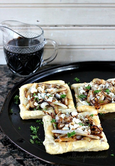 Blue Cheese Caramelized Onion Tart #callmepmc