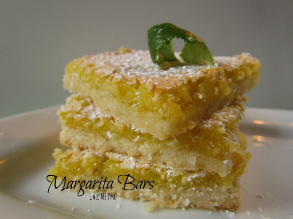 Margarita Bars (with lime and tequila) #dessert #booze #callmepmc