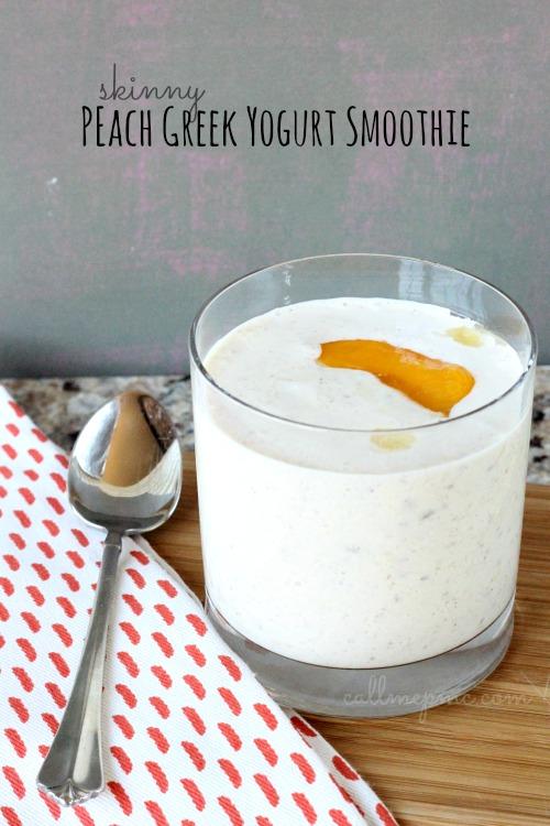 Skinny Greek Yogurt Smoothie