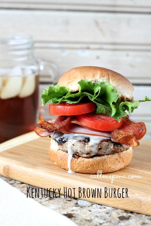 Kentucky Hot Brown Burger #callmepmc