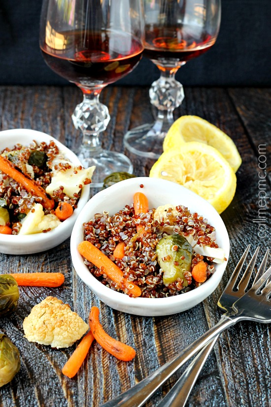 Roasted Vegetable Quinoa wm