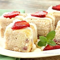 Fresh Strawberry Greek Yogurt Bread fb