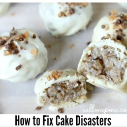 How to Fix Cake Disasters