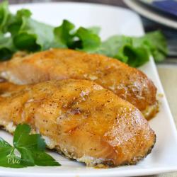 Honey Glazed Wood Roasted Salmon