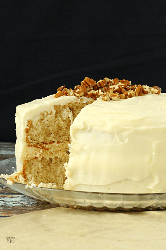 Cake With Cream Layer : Italian Cream Cake Recipe with Buttercream Frosting