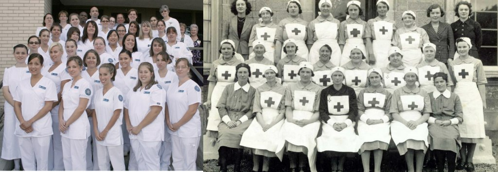 Nursing then and now
