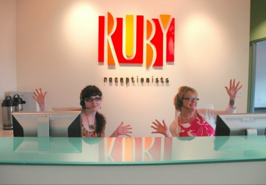 Ruby Receptionists Receives $388 Million Investment from Updata