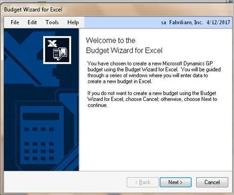 Microsoft Dynamics GP Tip Using Budget Template in GP (Exporting