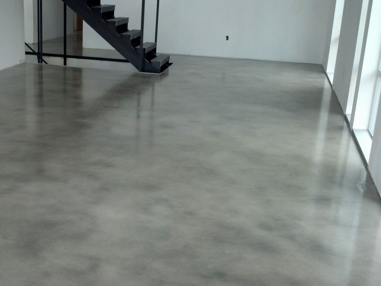 Concrete Floor Finishes Basement Top Home Information