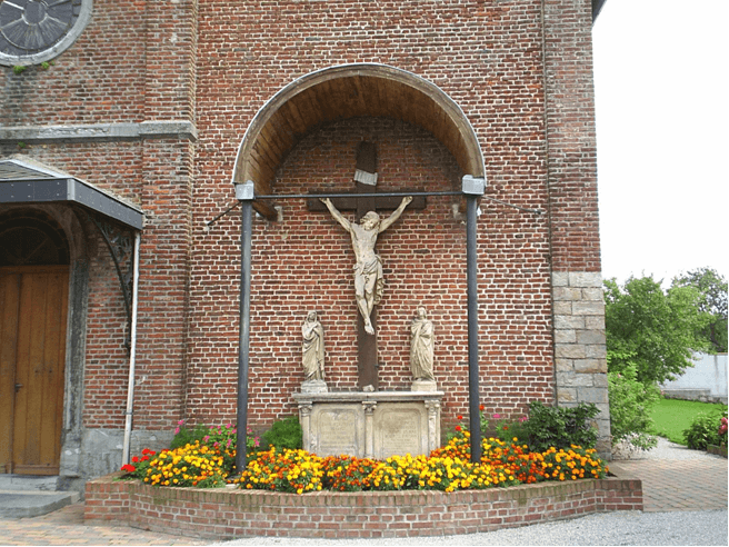 Photo prise par le CHGB (Cercle Historique et Généalogique de Berlaimont)