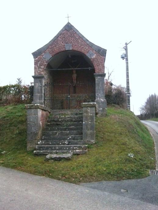 Calvaire Chemin d'Offies béni en 1833