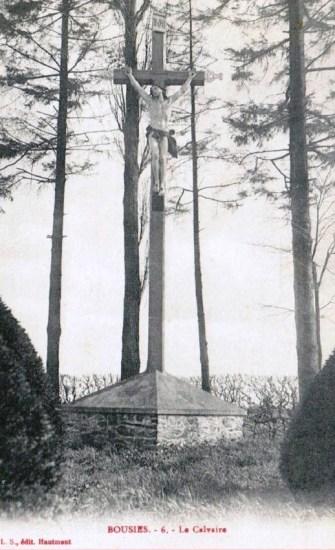 Calvaire rue des Fusillés début XX siècle