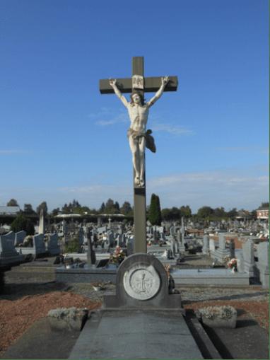 Calvaire cimetière du Centre.