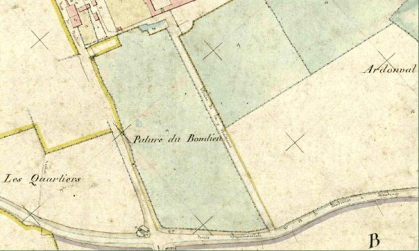 Plan cadastral 1860