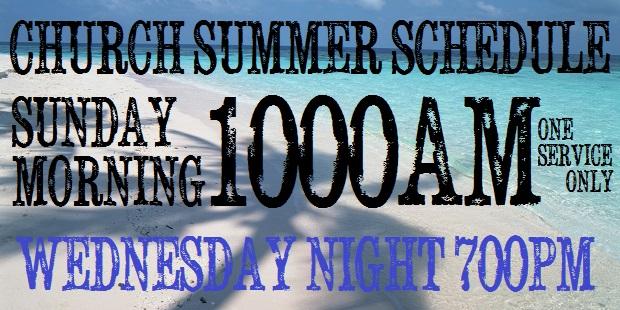 summer schedule 1000