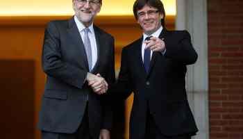 Rajoy pide a Puigdemont que asista a la Conferencia de Presidentes