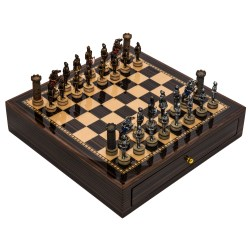Small Crop Of Medieval Chess Set