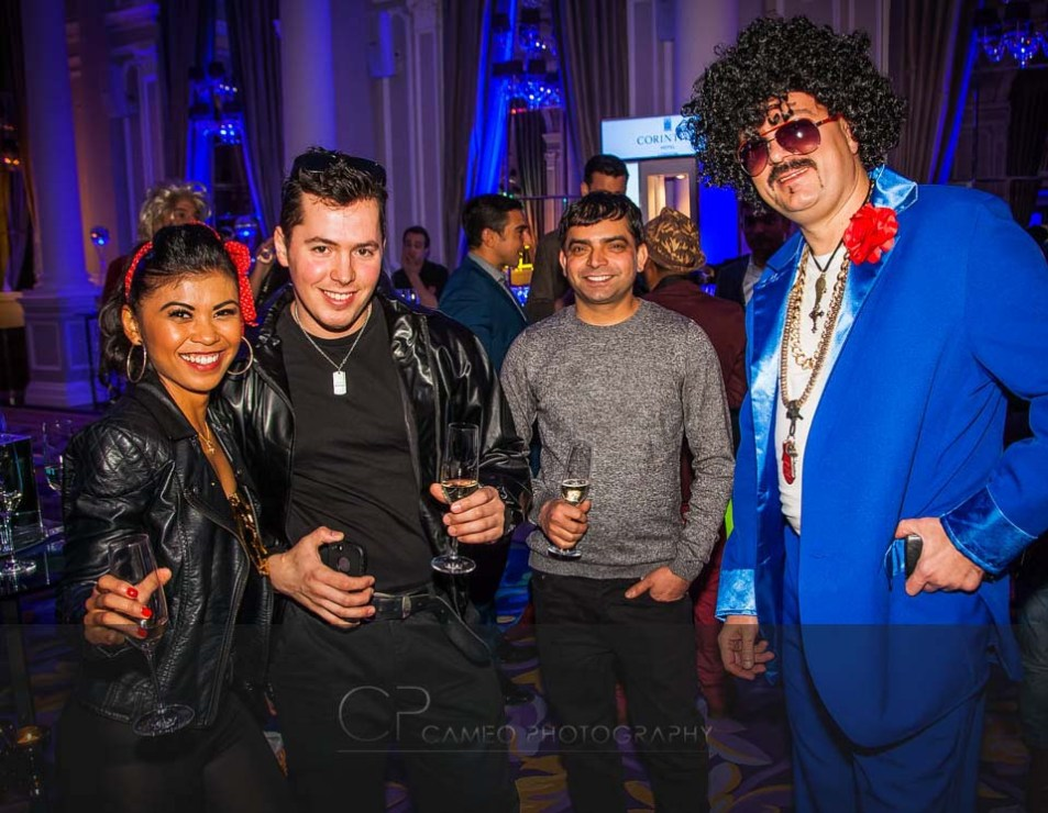 corinthia hotel staff party photography