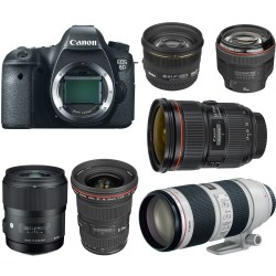 Small Crop Of Canon Full Frame Lenses
