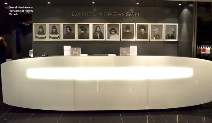 Daniel Hershesons, daniel hershesons harvey nichols, hair salons in london, best hair salons in london