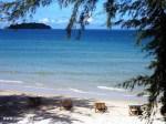Der Traumhafte Strand Von Otres Beach Bei Sihanoukville