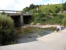 Roncesvalles - Larrasoana 01 water under bridge 01