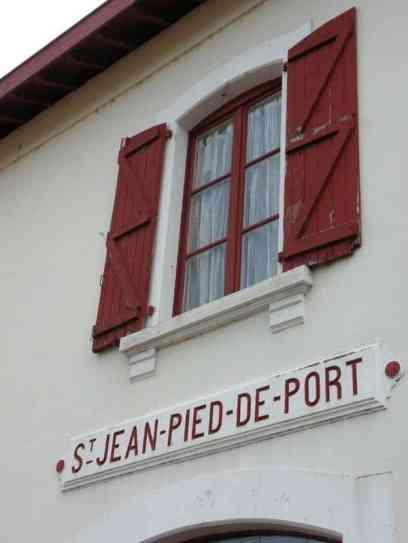 St Jean Pied de Port Train Station
