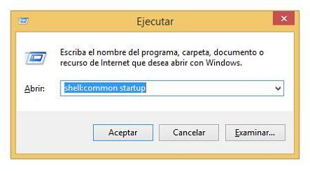donde esta la carpeta de inicio en windows 8