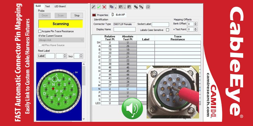 Wiring HarnessCustom Interface Tester Setup CableEye