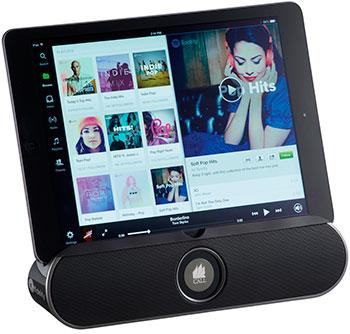 Altavoz con soporte y Bluetooth
