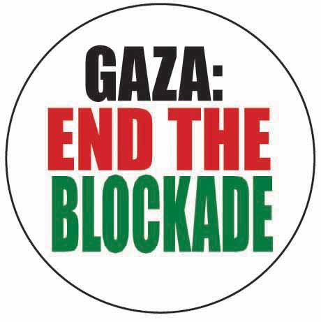 Gaza – End the blockade