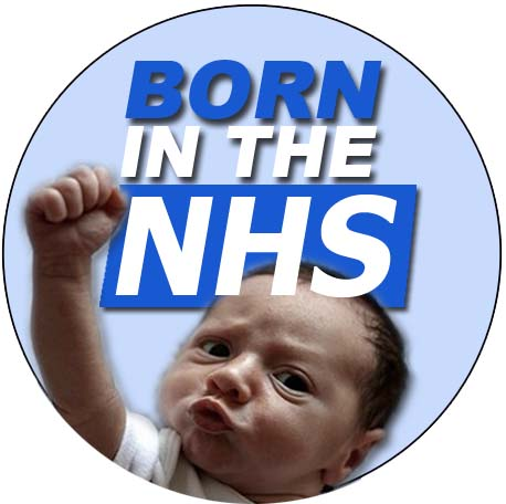 born in the NHS 38mm
