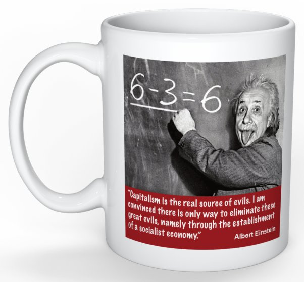 Einstein mug preview