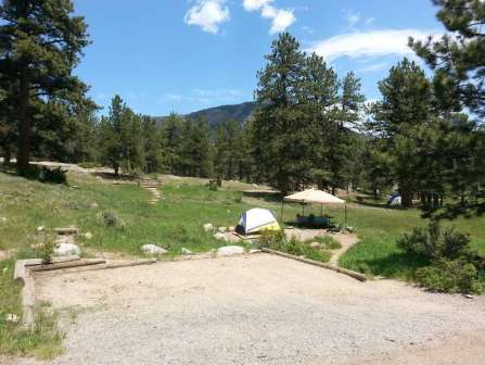 Moraine park campground in rocky mountain national park for Rocky mountain state park cabins