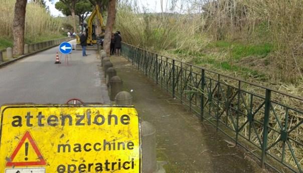 Lago D'Averno, iniziati i lavori di bonifica del canale di collegamento con il mare