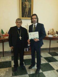 Il cardinale Crescenzio Sepe e Giovanni Oriani