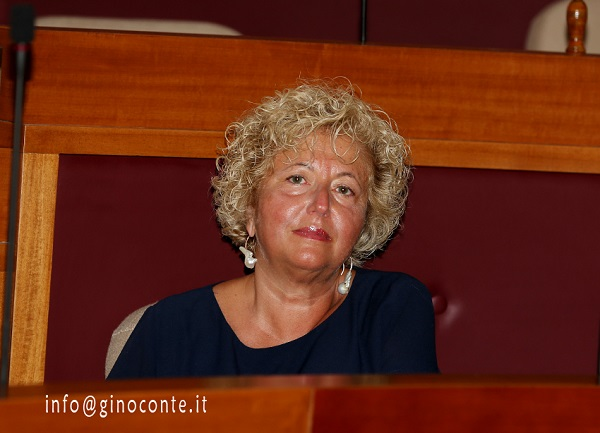 Maria Teresa Moccia Di Fraia assessore alla Cultura, Turismo e Tempo Libero