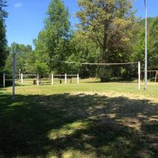 Terrain de volley-ball