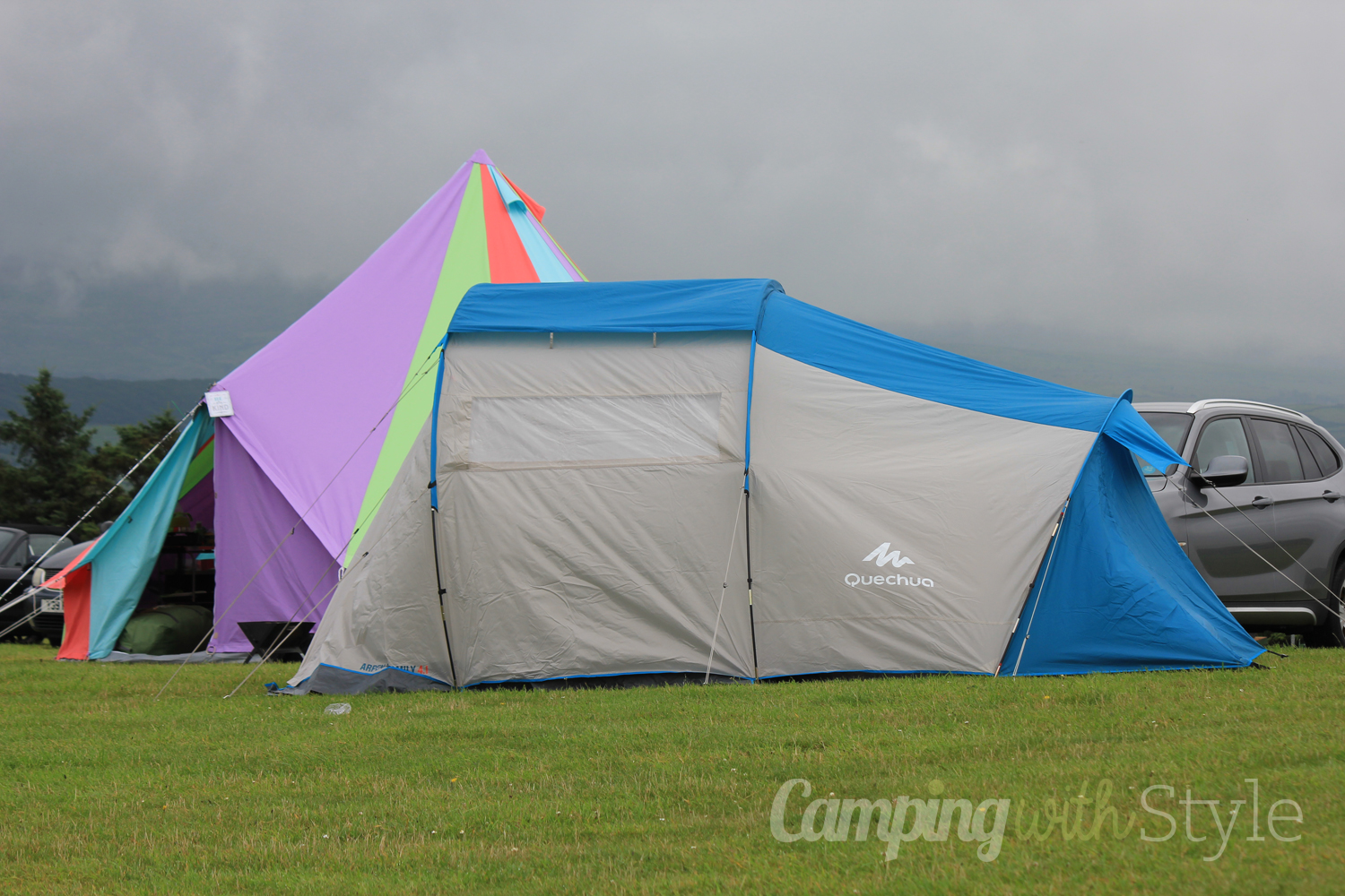 Decathlon Quechua Arpenaz 4.1 Family 4 Man Tent Review