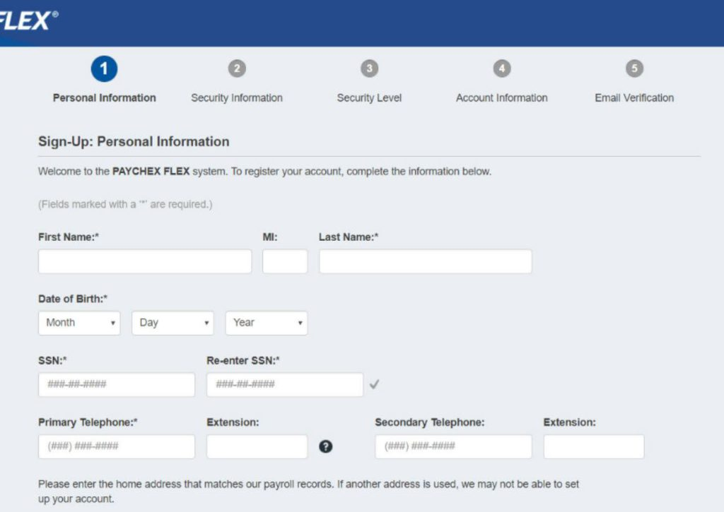 Paychex Flex Login for Employees eServices or Time and Labor