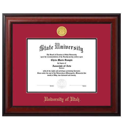 U of U Diploma Frames UNIVERSITY CAMPUS STORE