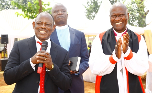 Makerere University Vice Chancellor Prof. Barnabas Nawangwe Holds Thanksgiving Ceremony